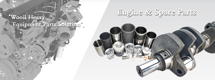 Wooil Heavy Equipment Parts Solution - Engine & Spare Parts