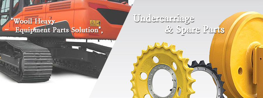Wooil Heavy Equipment Parts Solution - Undercarriage & Spare Parts