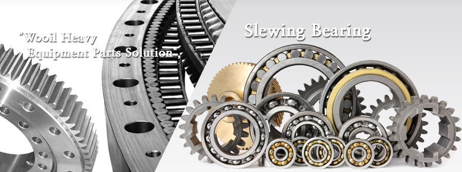 Wooil Heavy Equipment Parts Solution - Slewing Bearing