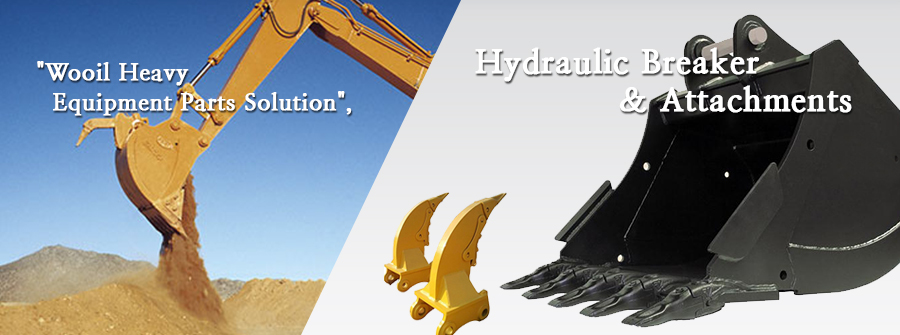 Wooil Heavy Equipment Parts Solution - Hydraulic Breaker & Attachments