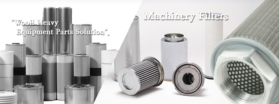 Wooil Heavy Equipment Parts Solution-Machinery Filters