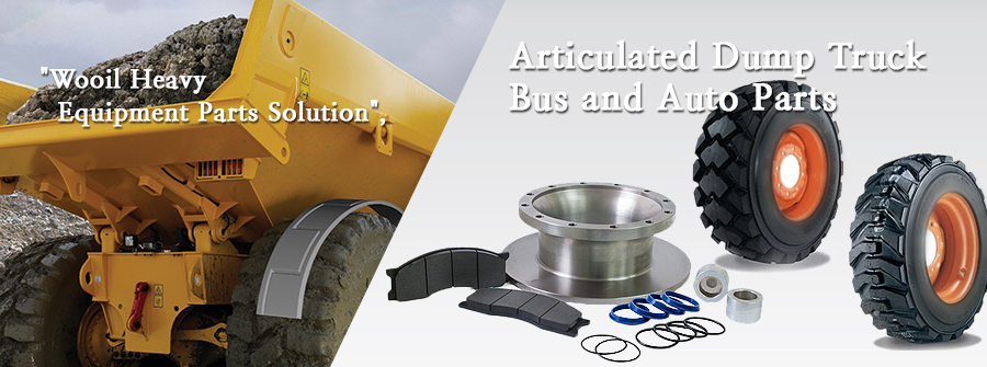 Wooil Heavy Equipment Parts Solution-Articulated Dump Truck / Bus and Auto Parts