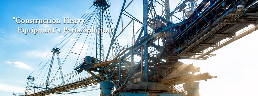 Construction Heavy Equipment's Parts Solution
